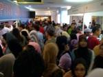 Pengunjung Pesta Buku Antarabangsa di PWTC